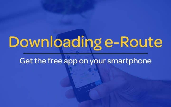 Downloading-e-Route